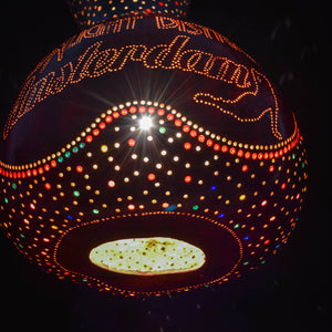 Pumpkin Lamp - Red Light District Amsterdam (Silver)