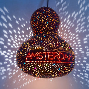 Pumpkin Lamp - Amsterdam Landmarks (Red)