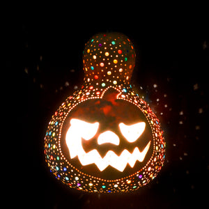 Pumpkin Lamp -Halloween  Natural color | 285