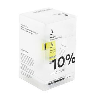Nigella sativa CBD oil 10% | Procare nutraceuticals
