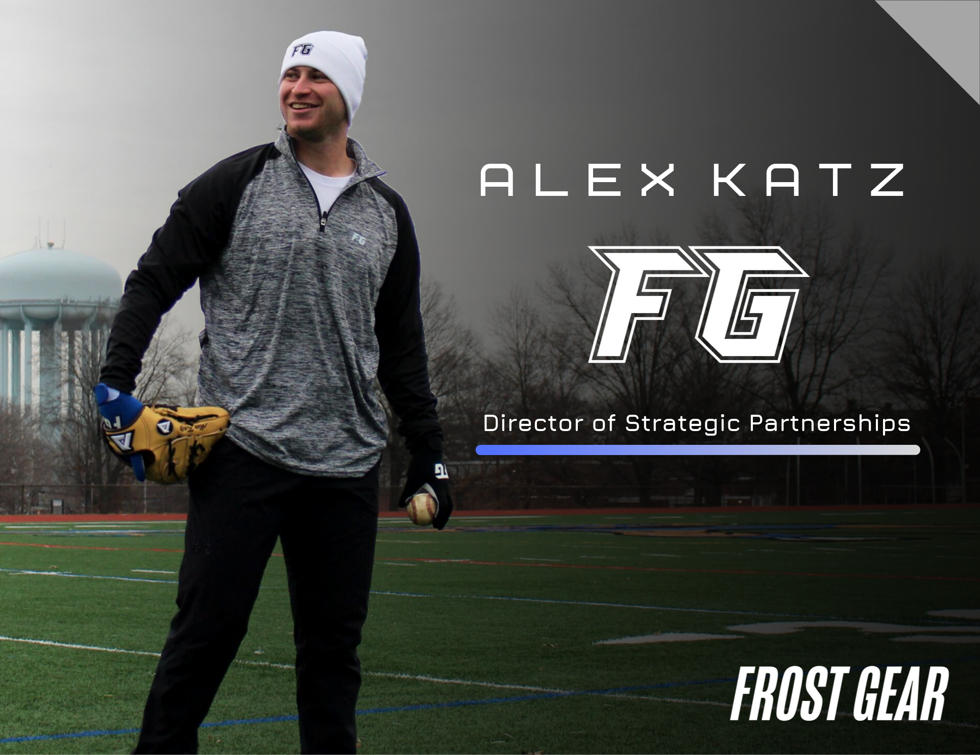 Pro Pitcher Alex Katz Joins Team Frost Gear