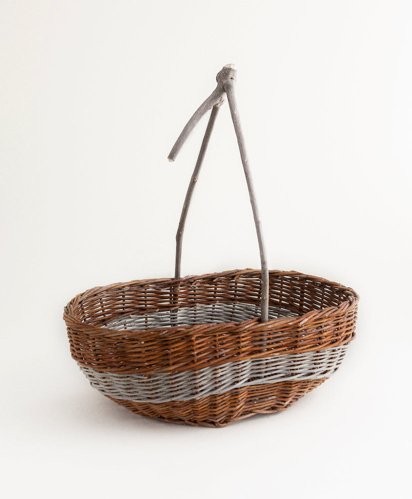 Branch Handled Basket