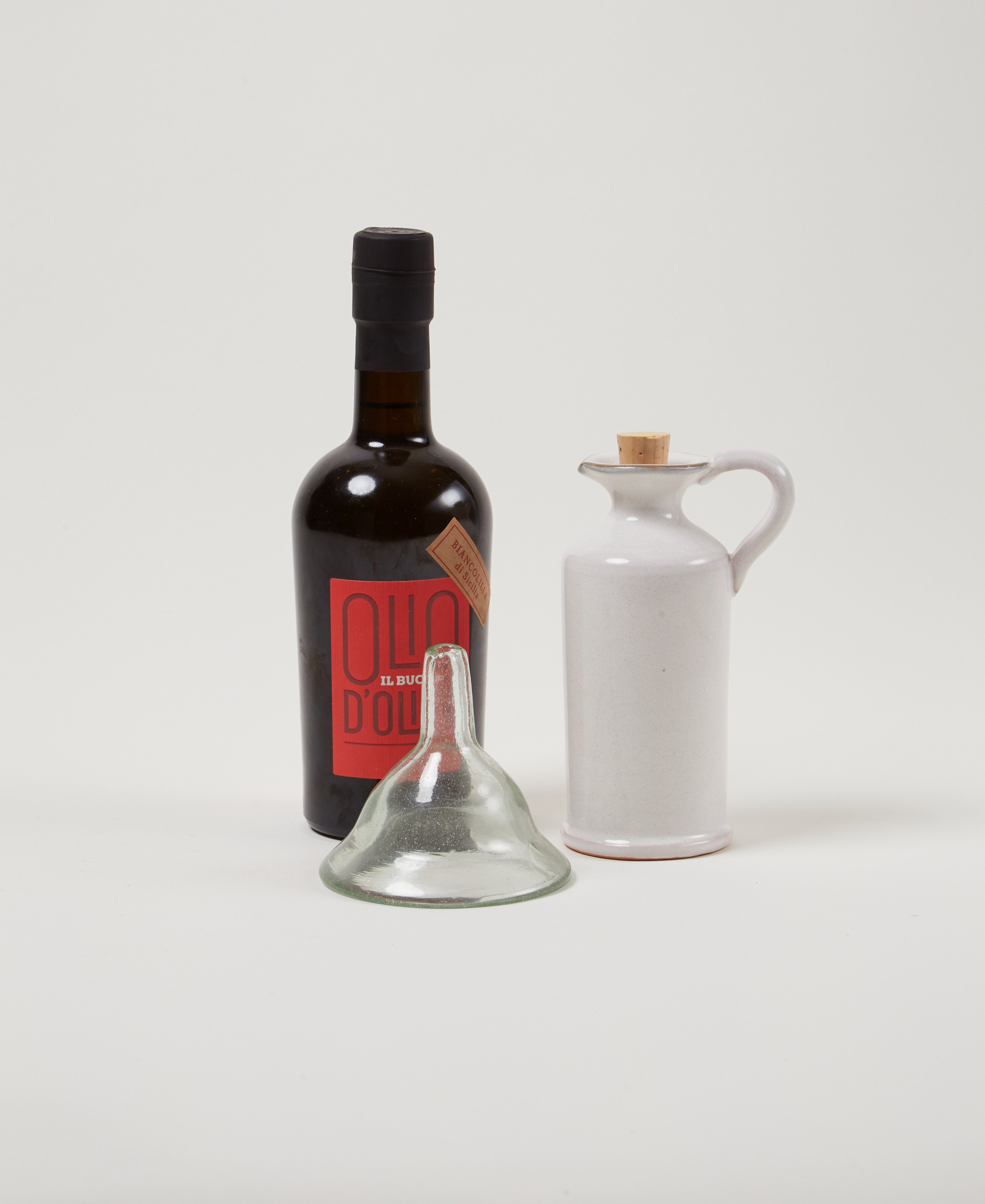 Olive Oil Serving Gift Set - Il Buco Vita