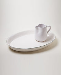 Deep Oval Serving Platter - Il Buco Vita
