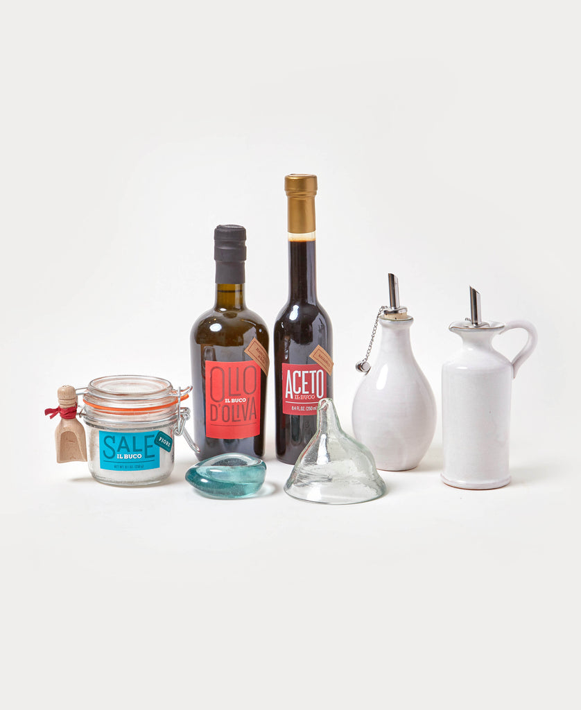 7-Piece Condiment Serving Gift Set