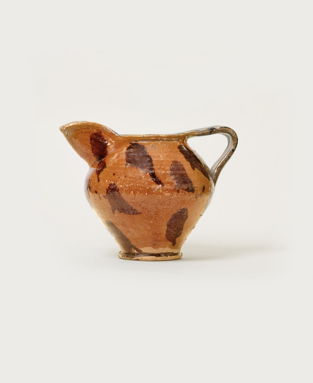 Spotted Terra Cotta Pitcher