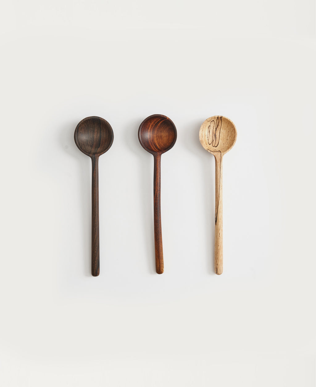 Small Tasting Spoons, Set of 3