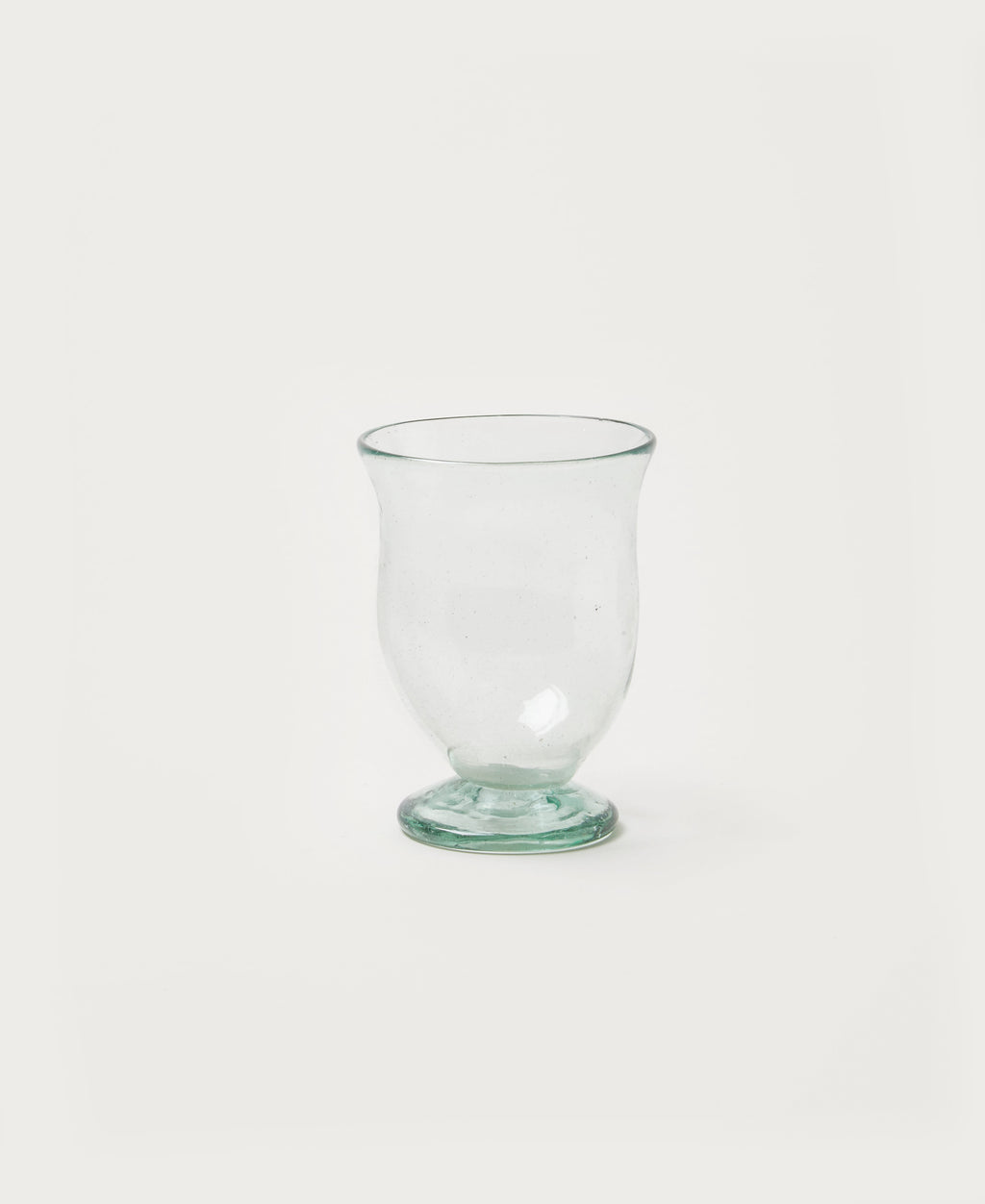 Footed Drinking Glass
