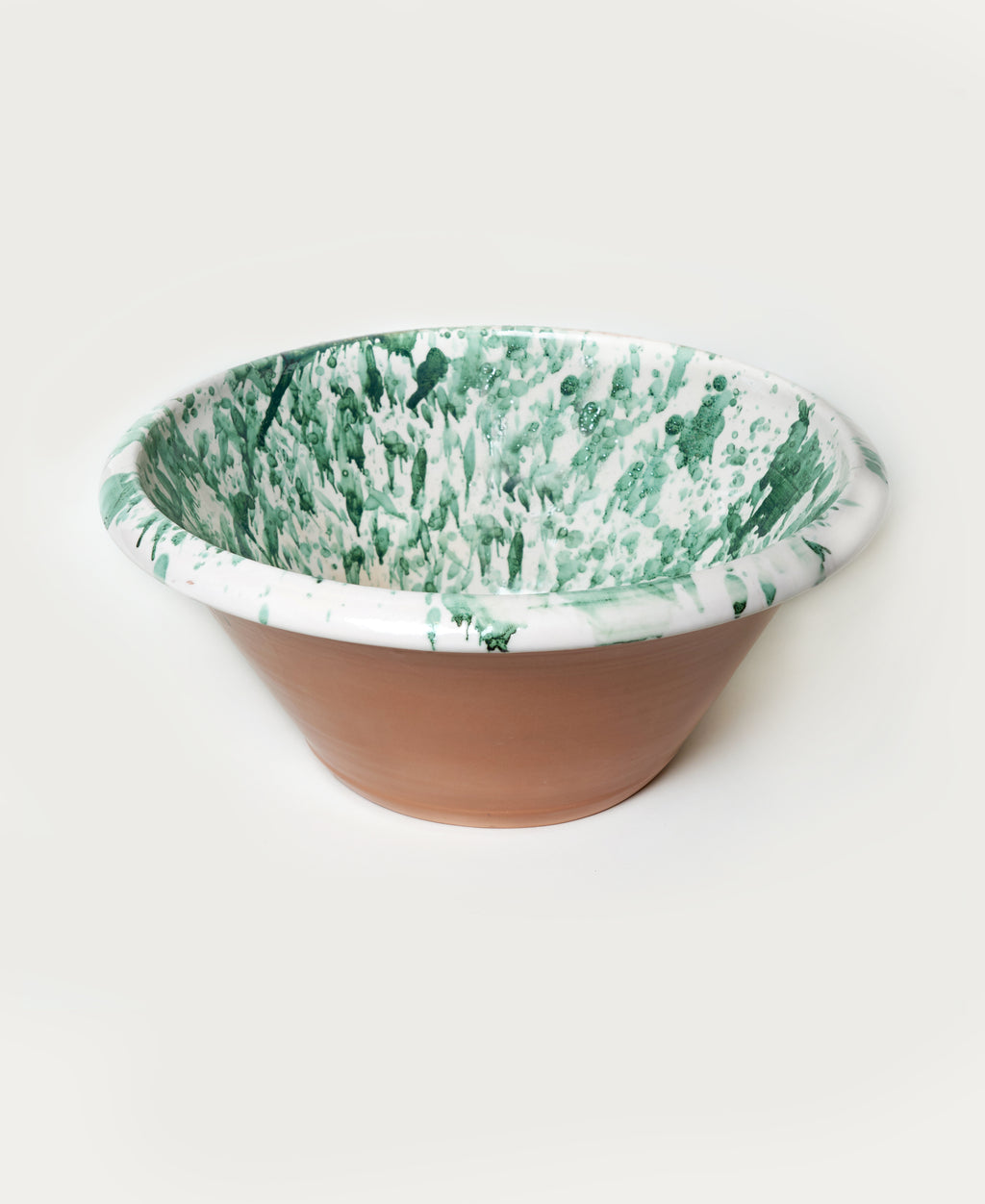 Large Splatterware Basin