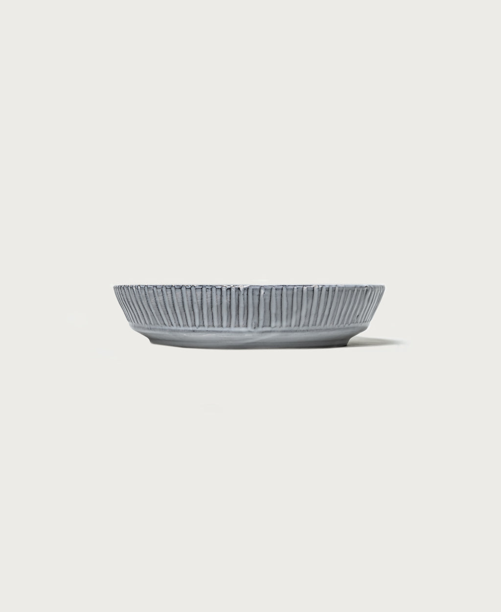 Stoneware Fluted Serving Dish