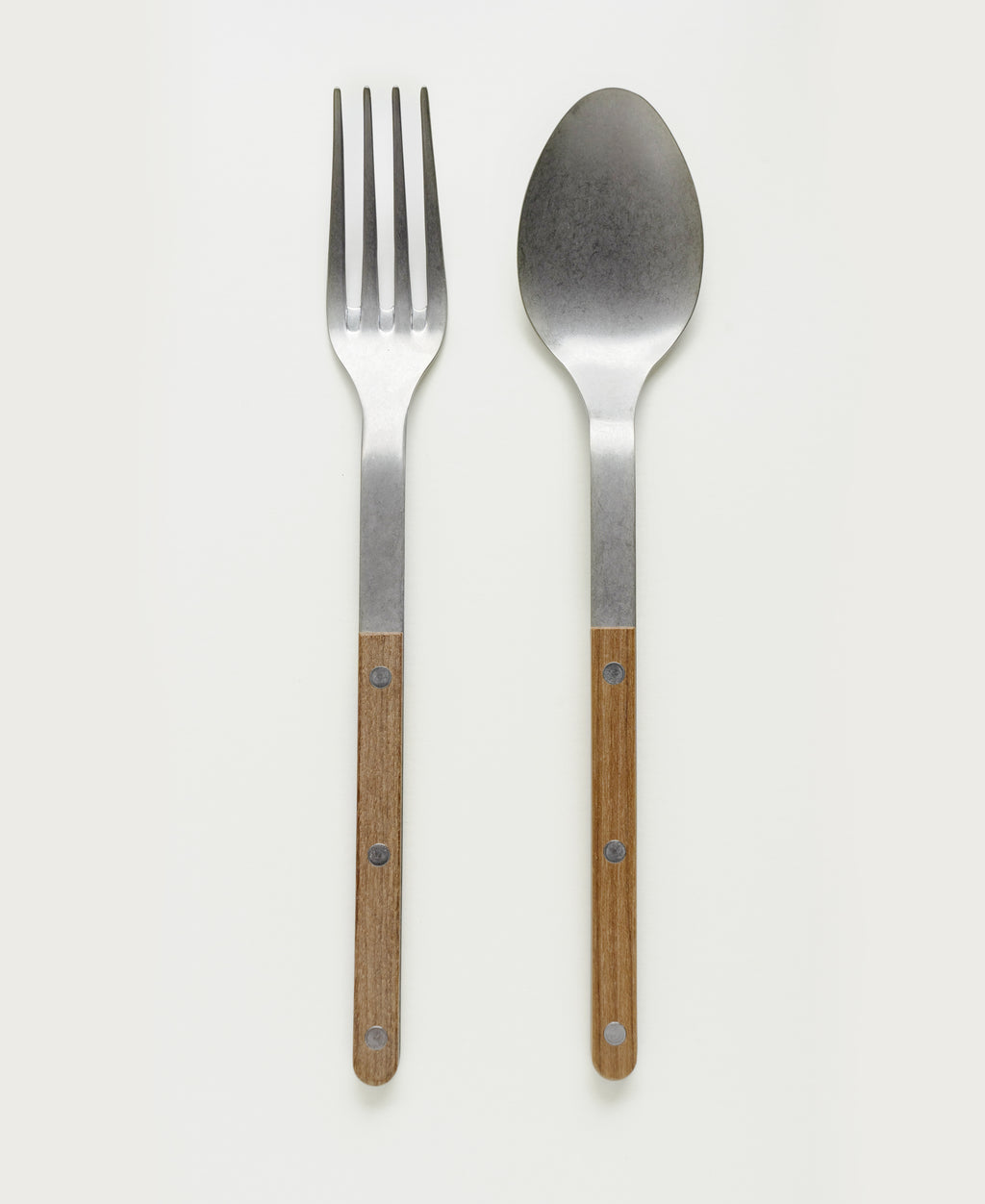 Vintage Bistro Serving Utensil Set, Teak