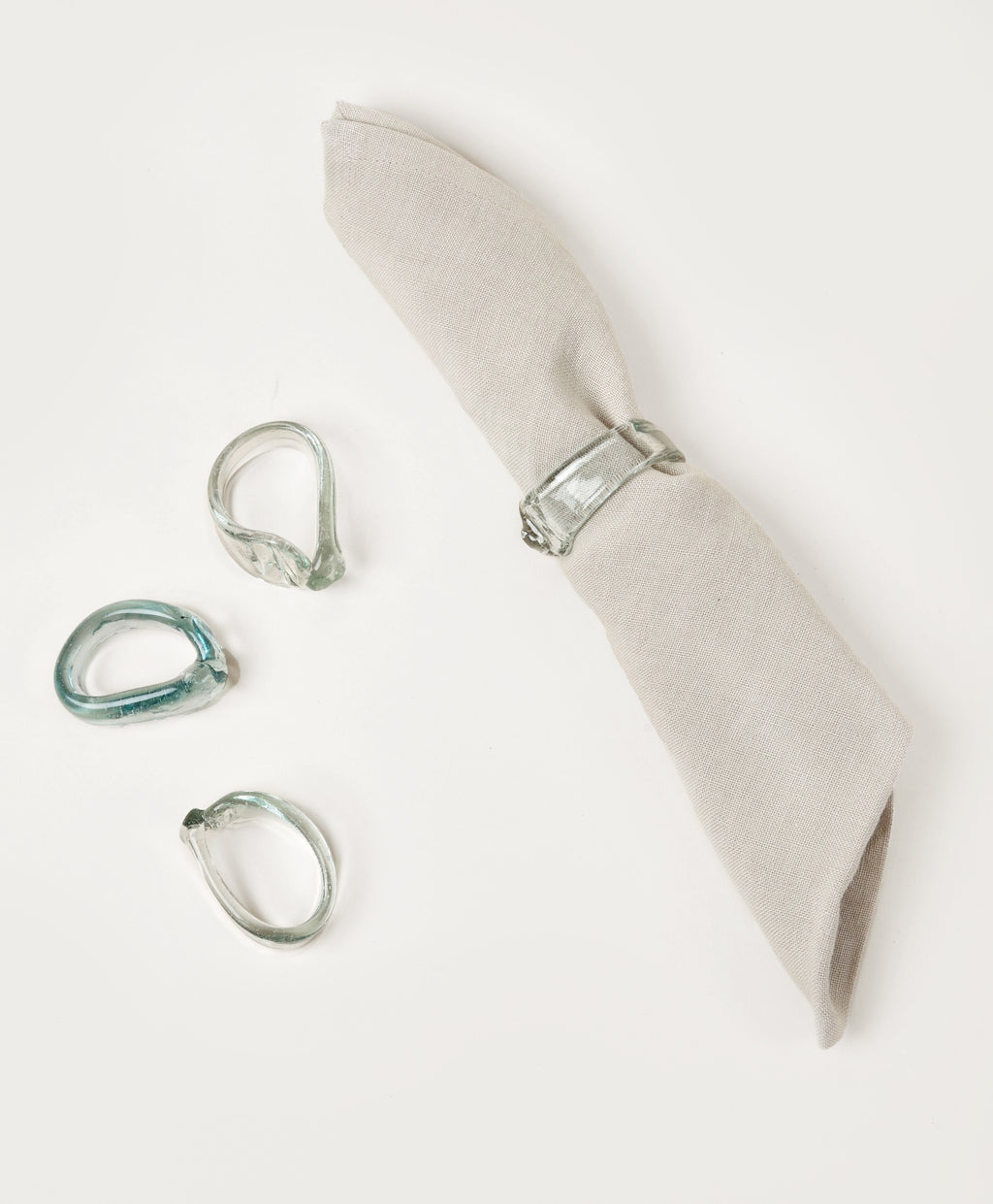 Glass Napkin Ring