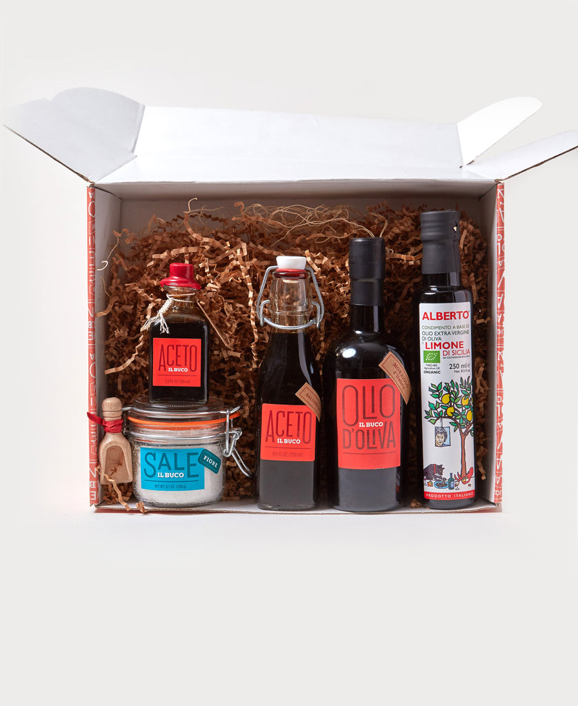 Oil & Balsamic Gift Set - Il Buco Vita