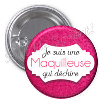 Badge Maquilleuse
