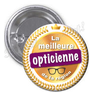 Badge Opticienne