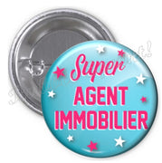 Badge Agent immobilier