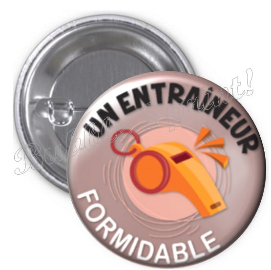 Badge Entraîneur