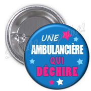 Badge ambulancière