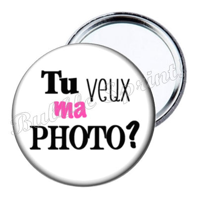 Miroir tu veux ma photo ?
