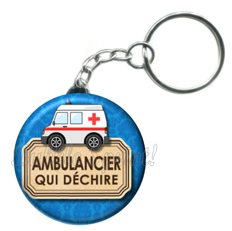 Porte-clés Ambulancier