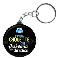 Porte-clés Assistant de direction