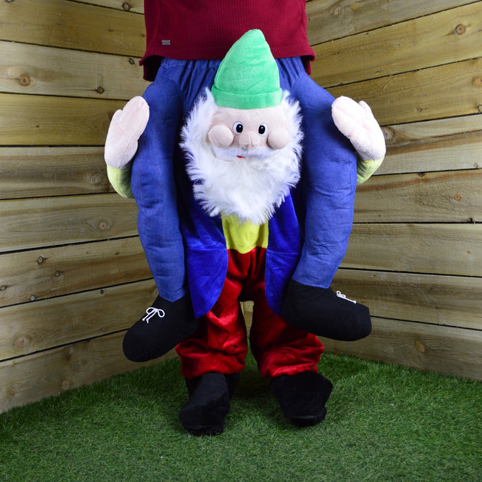 Adult Novelty Elf Carrying You Christmas Costume - 1 Size