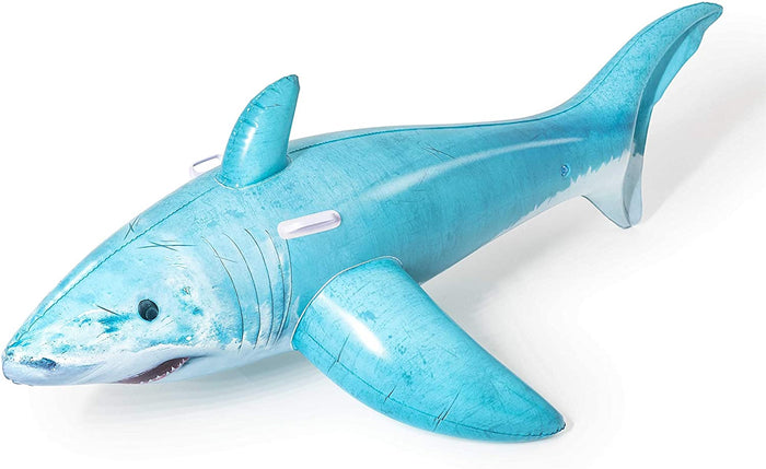 Bestway 1.83m 6ft Realistic Childrens Shark Ride-on Pool Inflatable