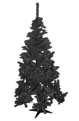 4ft, 5ft or 6ft Christmas Tree in Green, Black or White
