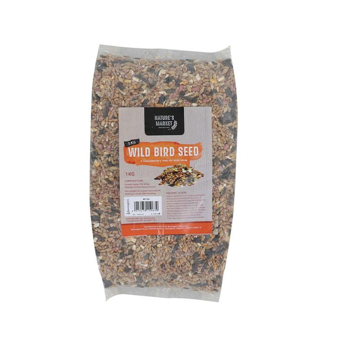 1Kg Bag of Wild Bird Seed