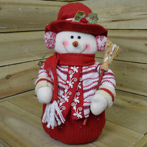 36cm Standing Santa or Snowman Indoor Christmas Decoration Character