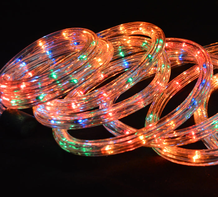 10m of Indoor / Outdoor Christmas Rope Light in Multi Coloured