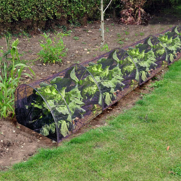 3m x 45cm Robust Netting Plant and Vegetable Grow Tunnel