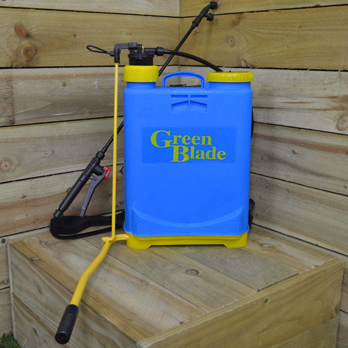 20 Litre Backpack Knapsack Weed / Fertiliser Pressure Sprayer with 1.3m Hose