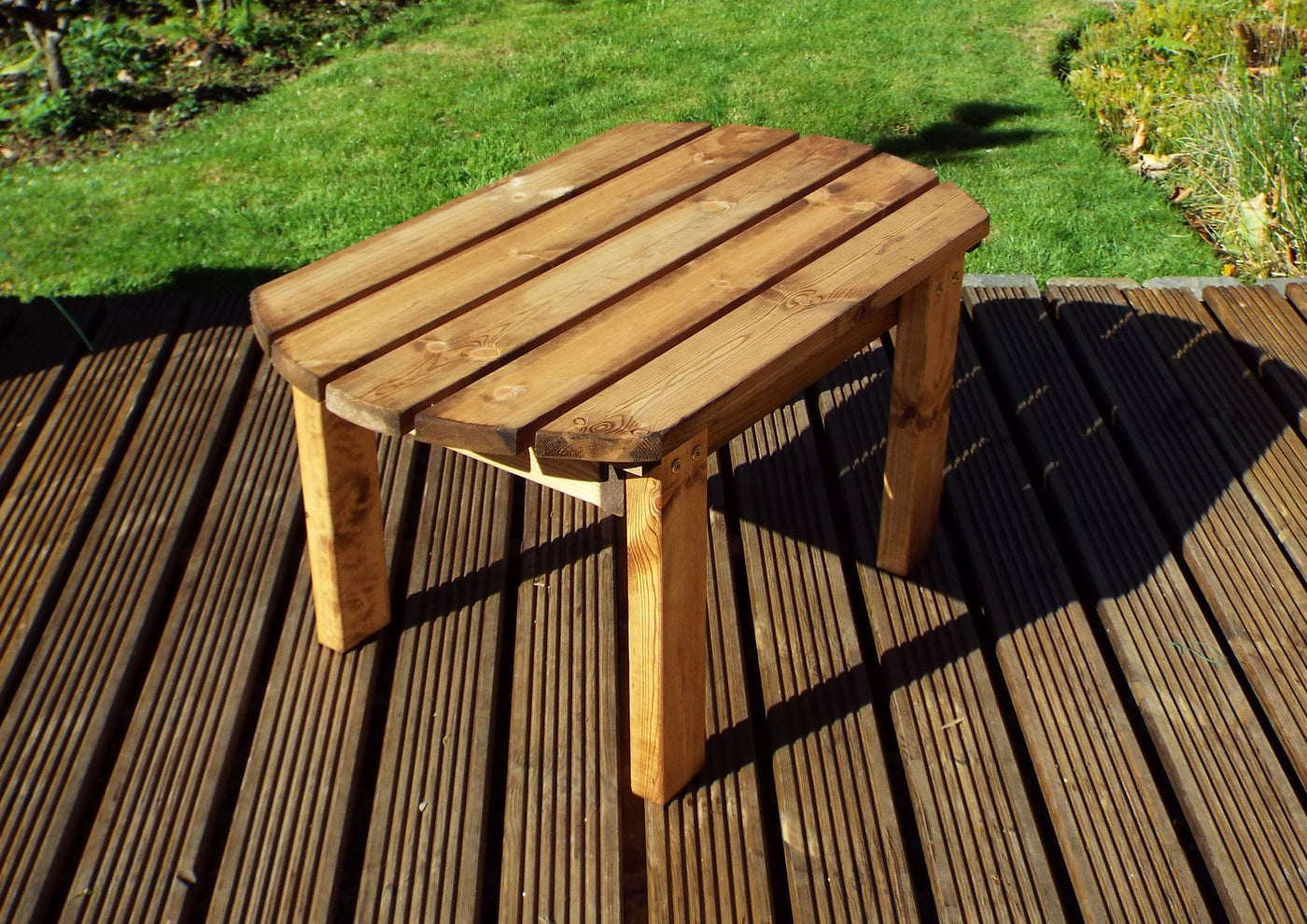 Charles Taylor Hand Made Chunky Rustic Wooden Traditional Coffee Table Cheaper Online Co Uk