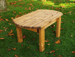 Charles Taylor Hand Made Chunky Rustic Wooden Traditional Coffee Table