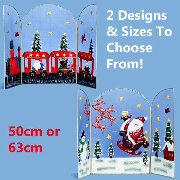 Christmas Fire Guard 2 Designs & 2 Sizes Avaliable