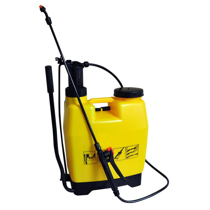 12 Litre Back Pack / Knapsack Garden Pressure Sprayer for Weeds / Fertiliser