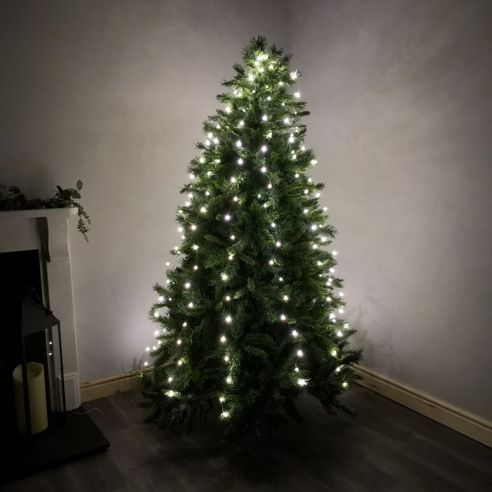 Warm White 200 micro LED Christmas Lights
