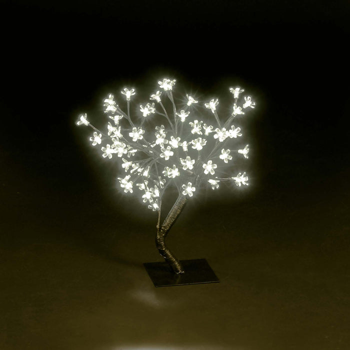 30cm (1FT) Indoor Twig Cherry Blossom Tree with 32 Warm White LEDs