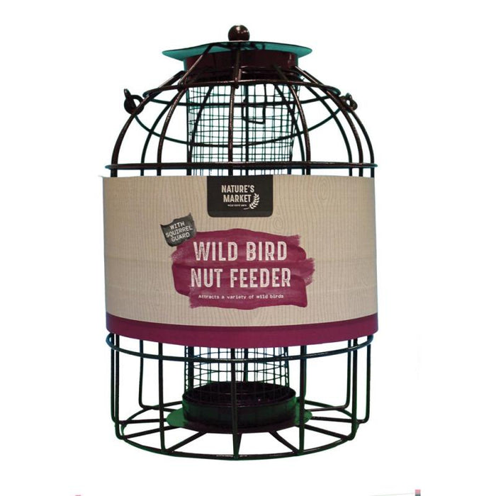 Wild Bird Nut Feeder with Squirrel Guard