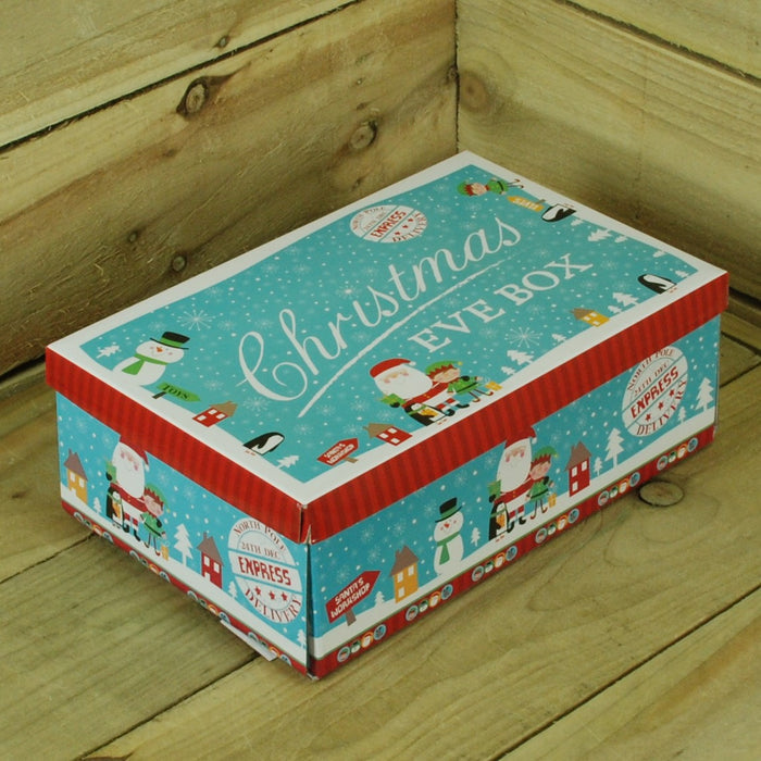 Small Blue Character Christmas Eve Box