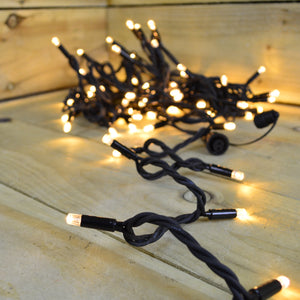 Benross 100 Warm White Connectable String Lights with Ultra Bright LED - Cheaper-Online.co.uk