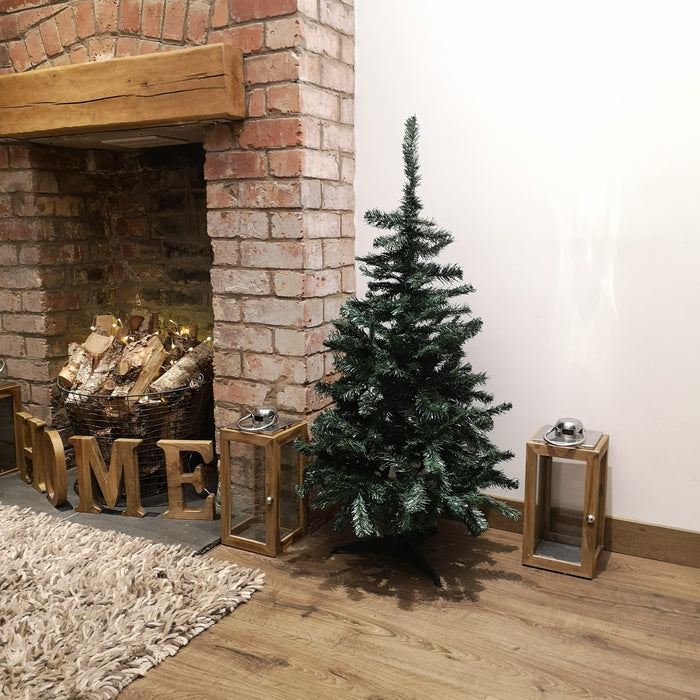 Premier 1.2m (4ft) Douglas Fir Christmas Tree With Stand Green