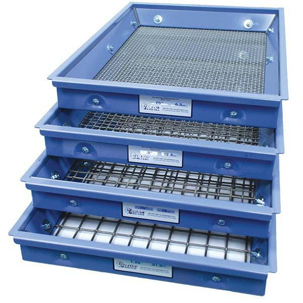ASTM Testing Screen & Test-Master® Trays - Rainhart