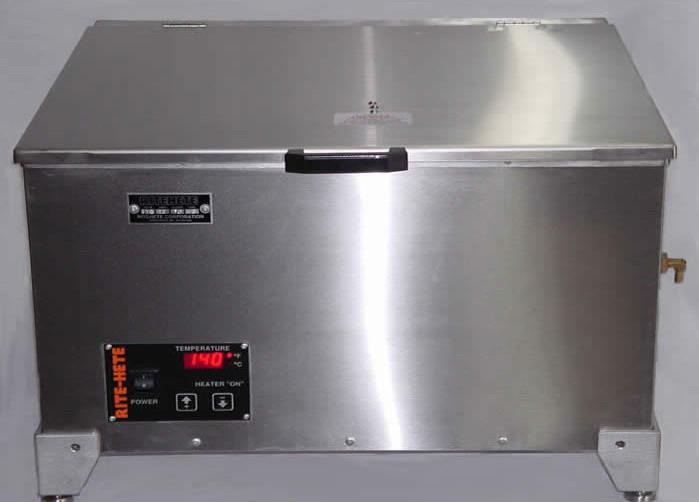 140°F Water Bath, Stainless Steel - 14 Gallon