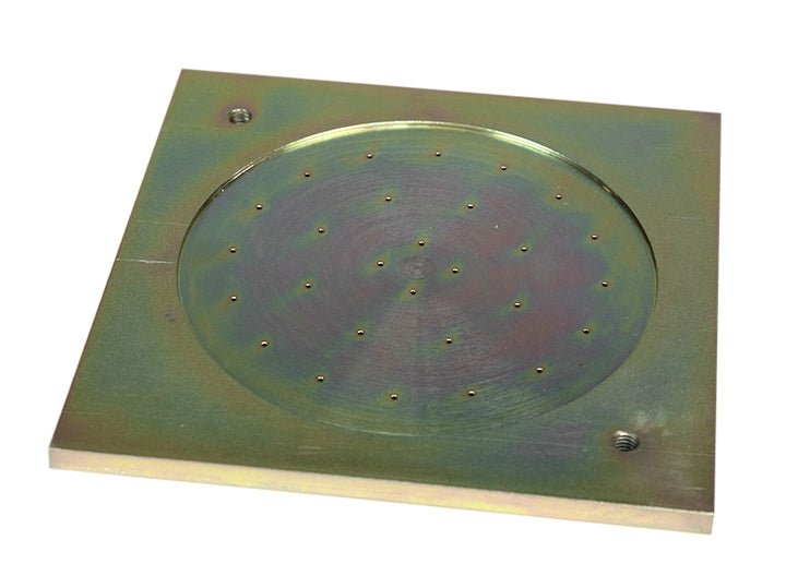 "Base Plate - Available in 4"", 6"", and 6"" Perforated - Rainhart"