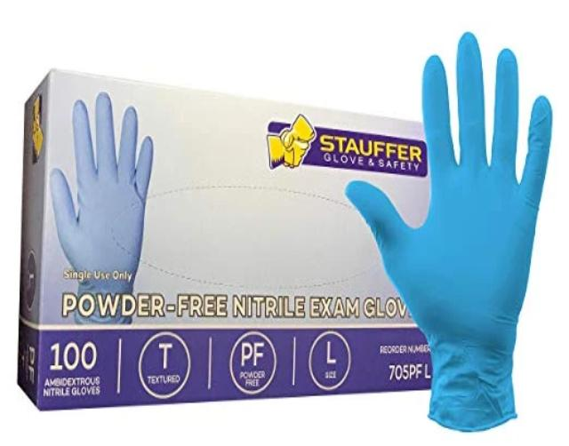 Vinyl Disposable Gloves - Box of 100 Gloves - Rainhart