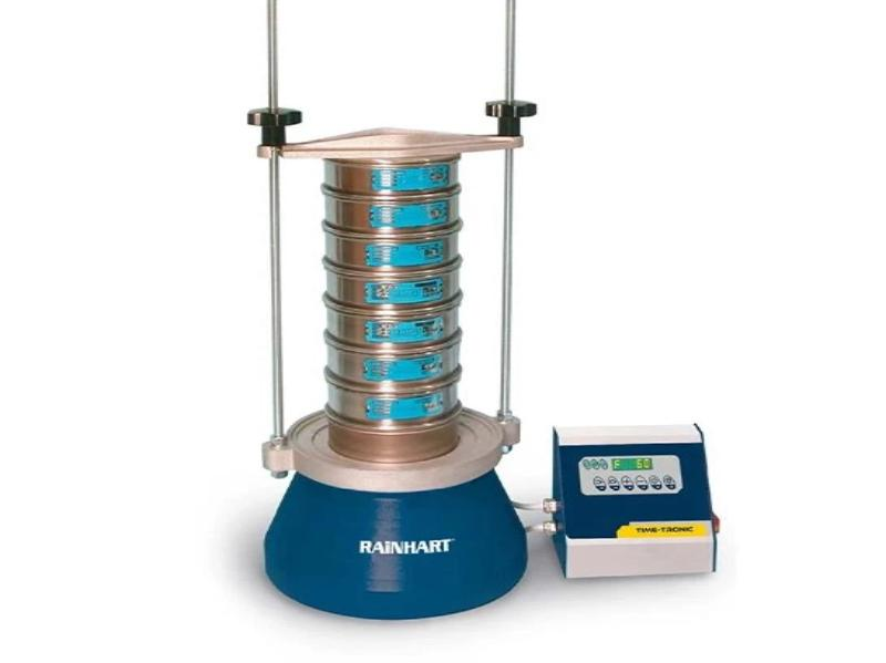 "Electromagnetic Sieve Shaker - for up to Ten - 8"" & 12"" Sieves - Rainhart"