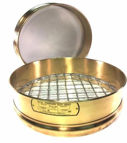 "12 Inch Sieve - 3-1/4"" (Full Height) - Select Screen Sizes - Rainhart"