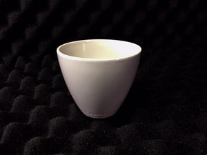 250ml Coorstek® Porcelain Crucible Top 84 x 72mm - Rainhart